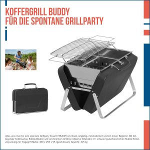 Koffergrill Buddy
