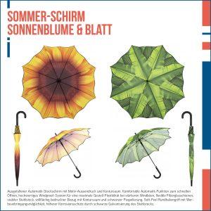 Sommer Regenschirm